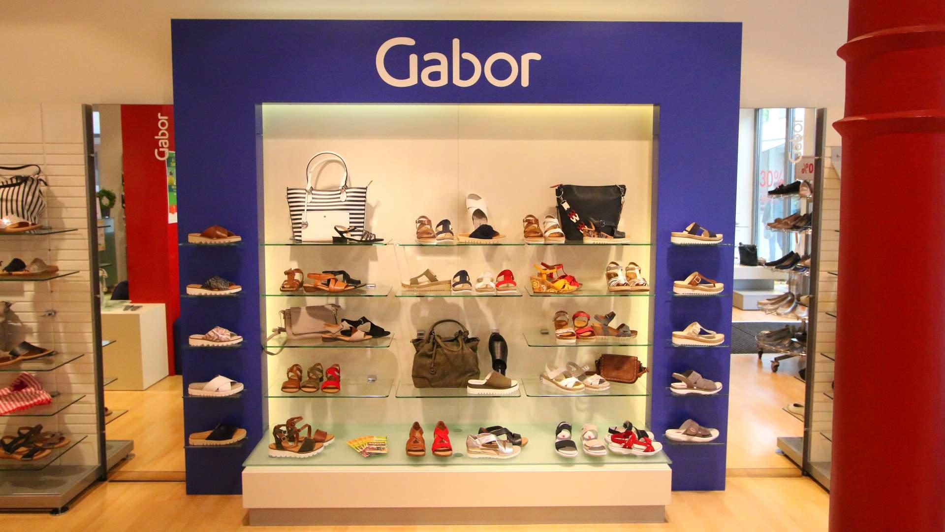 Gabor Schuh Regal